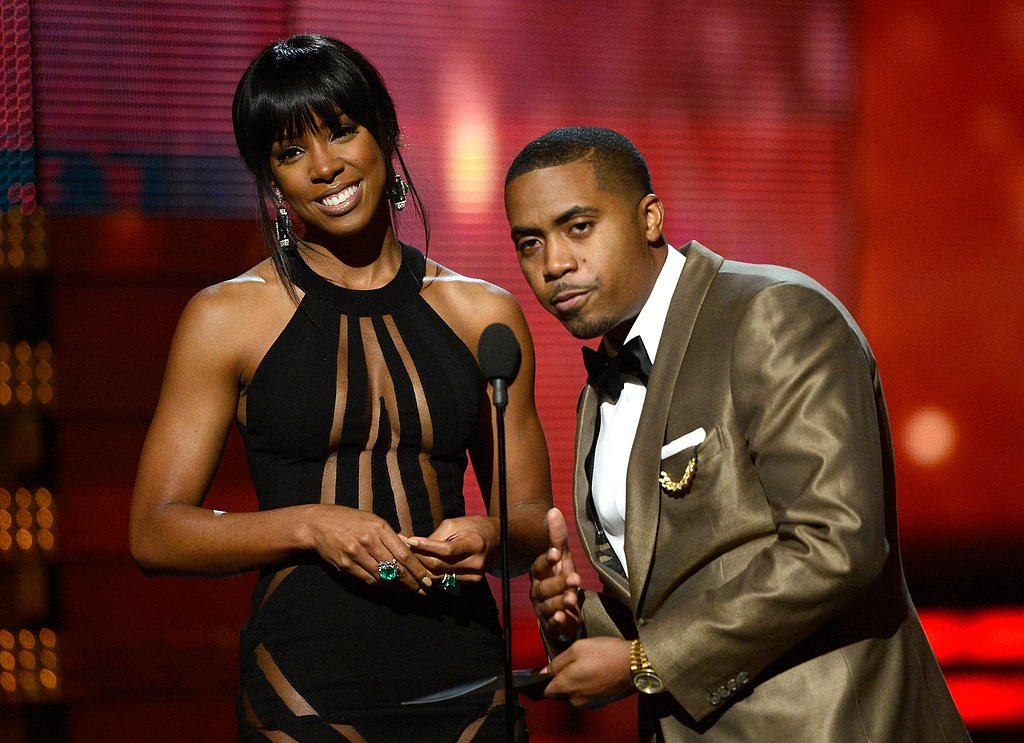 Kelly Rowland and Nas