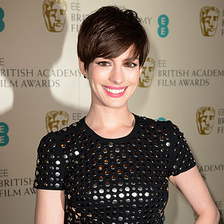 Anne Hathaway BAFTA Awards Red-Carpet Pictures | 2013