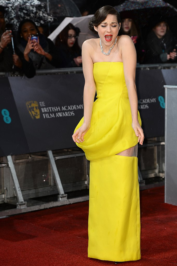 All the Ladies on the Rainy BAFTAs Red Carpet