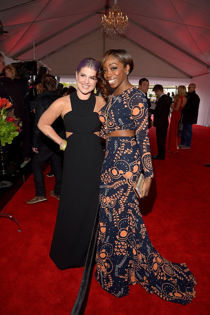 Kelly Osbourne and Estelle linked up on the red carpet.