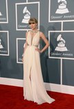 Taylor Swift Goes Grecian in J. Mendel at the Grammys