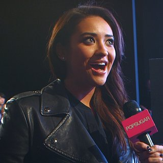 Shay Mitchell Interview at DKNY Fall 2013 Show (Video)