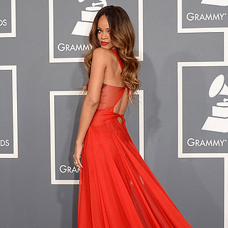 Rihanna | Grammys 2013 Red Carpet Dress