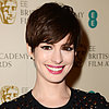 Anne Hathaway 2013 BAFTA Awards Red Carpet