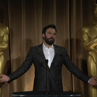 Ben Affleck at Oscars Luncheon (Video)