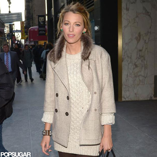 Blake Lively stepped out in NYC for a meeting.