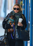 Ashley Olsen Bundles Up With Her Pup and Expands Her Brand