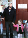 Ben Affleck and Seraphina Affleck grabbed breakfast together.