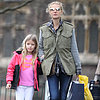 Gwyneth Paltrow Out With Apple in London