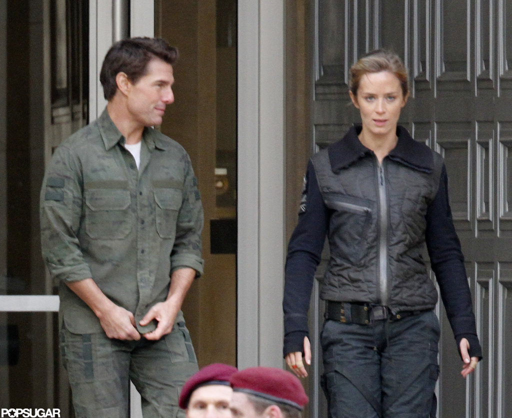 Emily Blunt and Tom Cruise filmed  All You Need Is Kill.