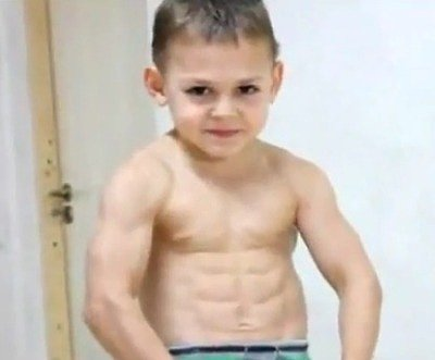 Meet the Strongest Kids In the World (VIDEO)