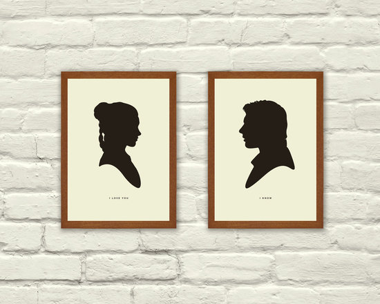 Star Wars Silhouette Print