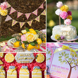 A Sweet and Sunny Lemonade Party