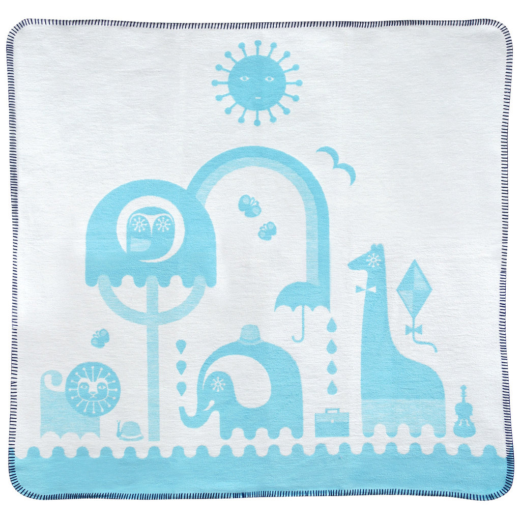 Blue Junior Animal Blanket