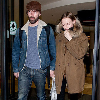 Kate Bosworth and Michael Polish Land at LAX Together