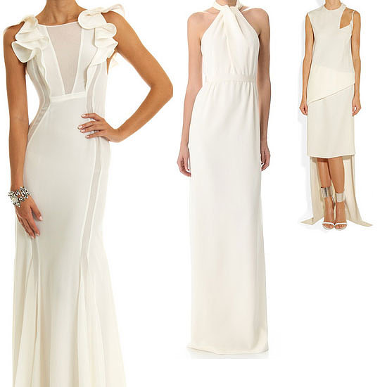 Top ten non traditional wedding dresses for the modern for Modern wedding guest dresses
