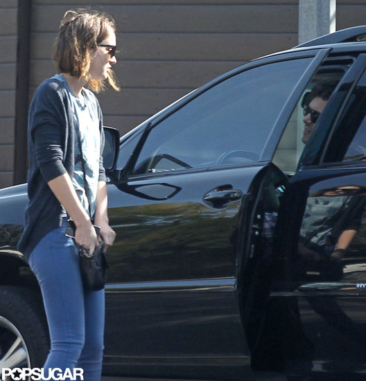 First Pictures — Leighton Meester and Adam Brody Together!