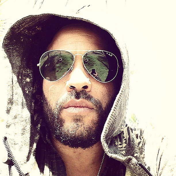 Lenny Kravitz shared a close-up. Source: Twitter user LennyKravitz