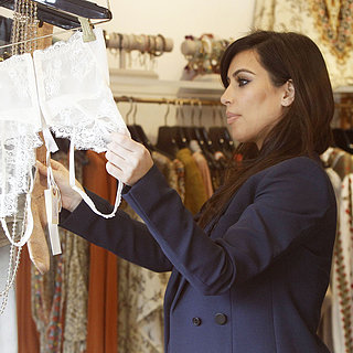 Kim Kardashian Shops For Lingerie in LA