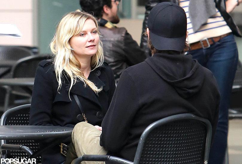 Kirsten Dunst and boyfriend Garrett Hedlund had a lunch date at the LACMA.
