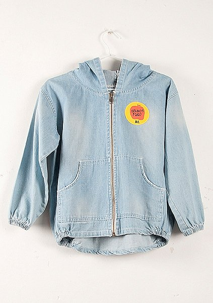 Denim Patch Jacket ($128)