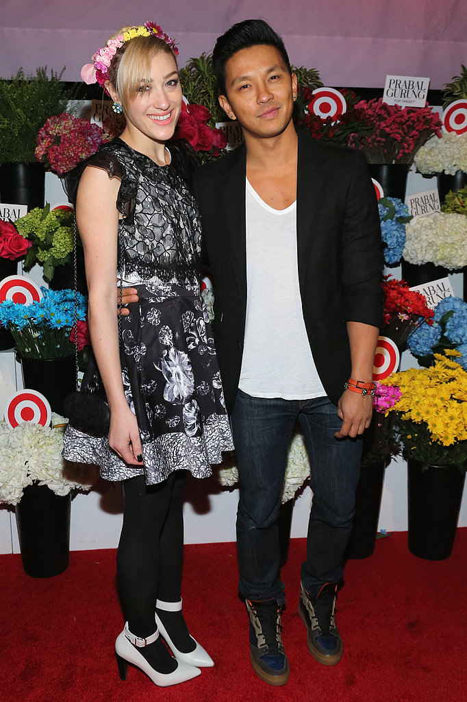 Prabal Gurung posed with DJ Mia Moretti at the Prabal Gurung For Target launch party in NYC.