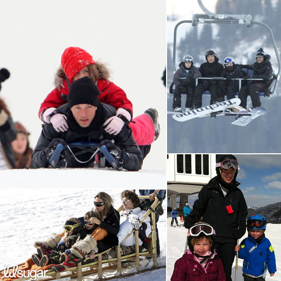 Winter Wonderland: See How Celeb Tots Play in the Snow
