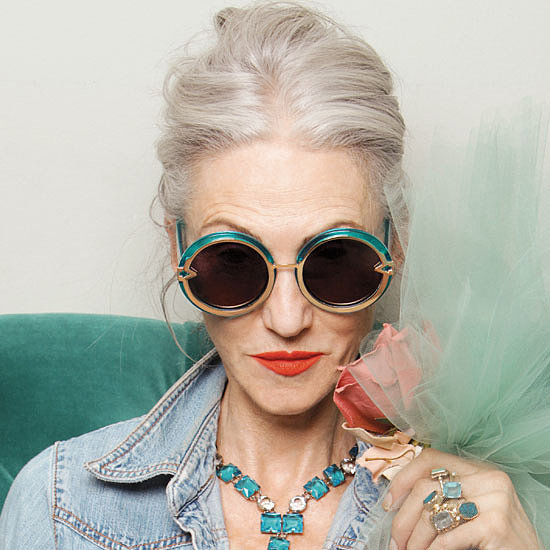 Karen Walker Eyewear Taps Advanced Style Blog for Summer '13