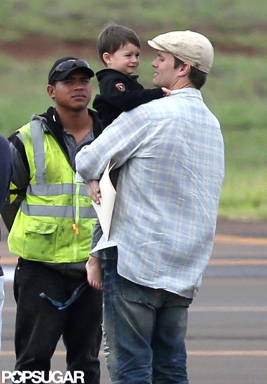 Tom Brady carried Ben on the tarmac.