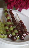 Caterpillar Grape Kebabs