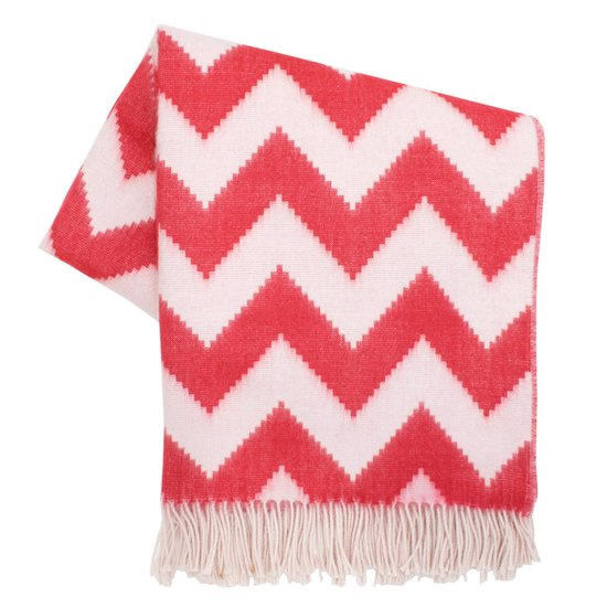 Your design-savvy pal will love this bright chevron throw ($295).