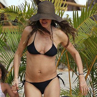 Gisele Bundchen Bikini Pictures After Baby Vivian