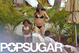 Gisele Bündchen Unveils Her Postbaby Body in a Tiny Black Bikini