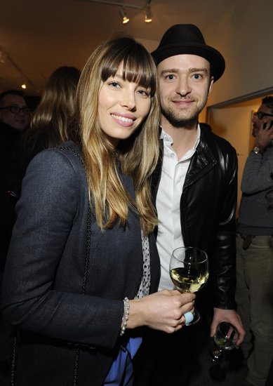 Jessica Biel and husband, Justin Timberlake, were out together in LA.