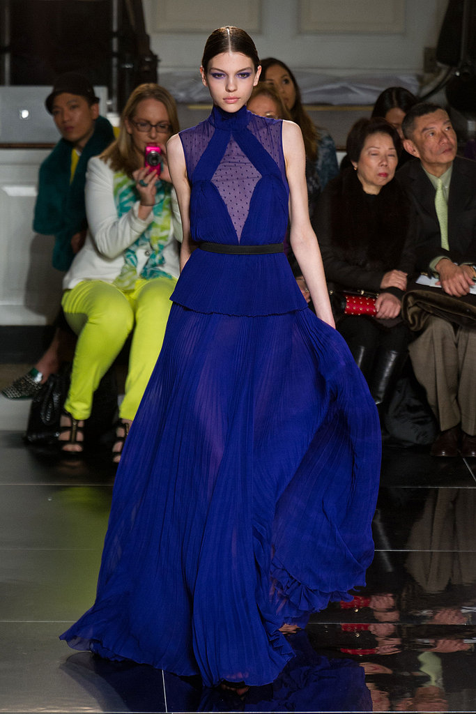This vibrant purple gown from Jason Wu's Fall 2013 collection is begging to be worn by a rising star like Amanda Seyfried.