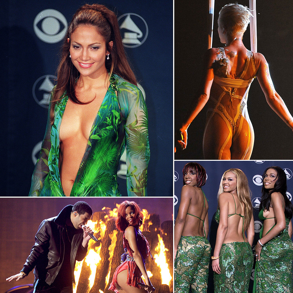 Blacklisted Boobs and Butts at Past Grammys