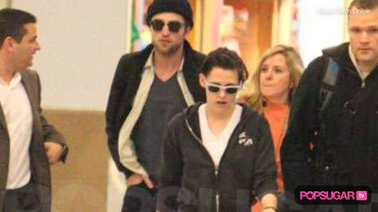 Rob & Kristen Land in LA, Taylor's Shirtless Talk, & Ashley's Broken Bones