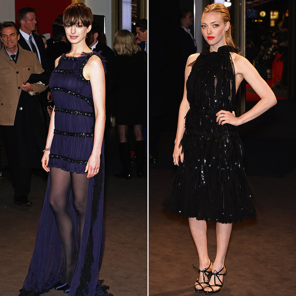 Anne and Amanda Channel a Darker Kind of Elegance at Berlin Premiere