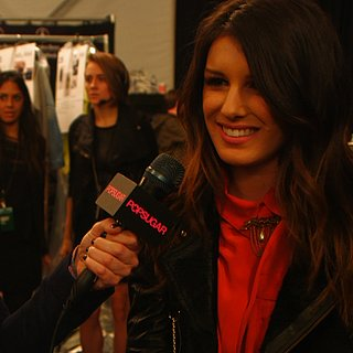 Shenae Grimes Interview at Rebecca Minkoff Fall 2013 | Video
