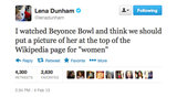We think Lena Dunham might be onto something with this idea. . .