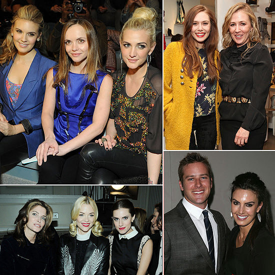 All the Celebrities at New York Fashion Week So Far!