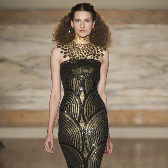 The Most Opulent Looks From L'Wren Scott's Fall 2013 Runway