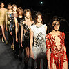 2013 A/W London Fashion Week: Julien Macdonald Sexy Dresses
