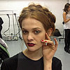 Alice + Olivia Hair and Makeup | Fashion Week Fall 2013