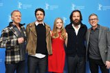 On Saturday, the Lovelace crew, Bob Epstein, James Franco, Amanda Seyfried, Peter Sarsgaard, and Jeffrey Friedman, linked up for a photocall at the Berlin Film Festival.