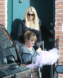 Jessica Simpson bought a tutu.