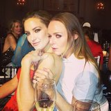 Kate Hudson posed with pal Stella McCartney at the Elle Style Awards in London. Source: Instagram user amandadecadenet