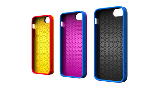 The back of the Lego iPhone case is similar to Belkin's current Grip line.
