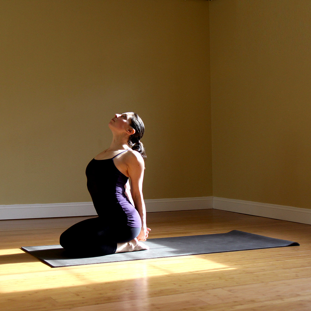Seated Heart-Opener Pose