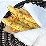 Easy Cheesy Garlic and Herb Breadsticks